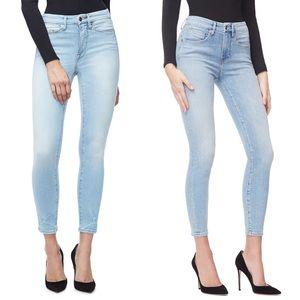 {GOOD AMERICAN} Good Legs High Waist Jeans